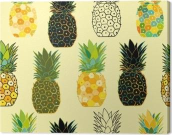 Ananas uppsättning, skiss för din design