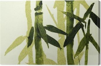 Canvastavla Bambu konsistens