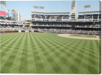 Canvastavla Baseball fält
