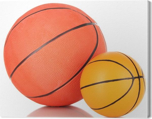 Canvastavla Basket bollar 0d7e08278eaa7