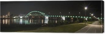 Canvastavla Belgrad, Sava bron