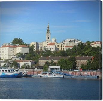 Canvastavla Belgrad Serbien
