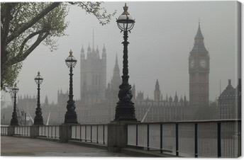 Canvastavla Big Ben & Houses of Parliament