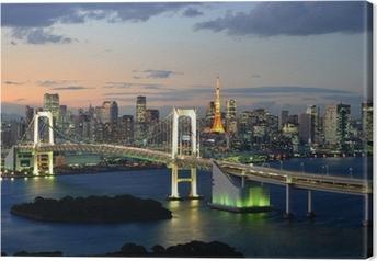 Canvastavla Bucht von Tokyo
