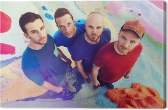 Canvastavla Coldplay
