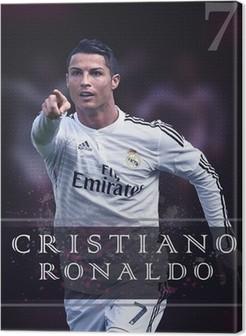 Canvastavla Cristiano Ronaldo