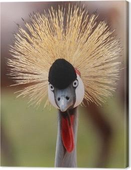Canvastavla Crowned Crane