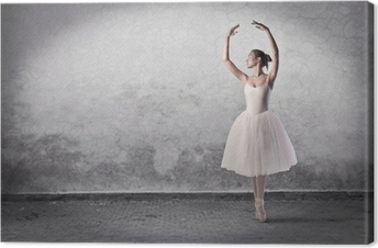 Canvastavla Dans