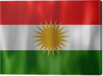Canvastavla Drapeau kurdistan