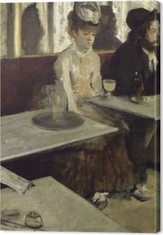 Canvastavla Edgar Degas - Absint