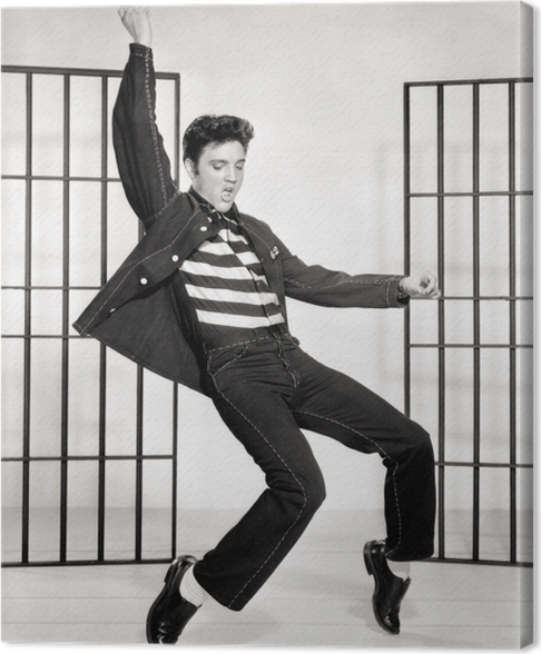 Canvastavla Elvis Presley - Elvis Presley