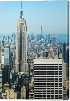 Canvastavla Empire state building