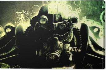 Canvastavla Fallout