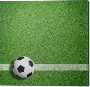 Canvastavla Fotboll tema • Pixers® - Vi lever för förändring ee4b2bf14c172