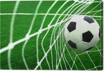 Canvastavla Fotboll