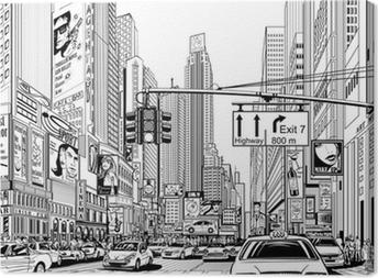 Canvastavla Gata i New York City