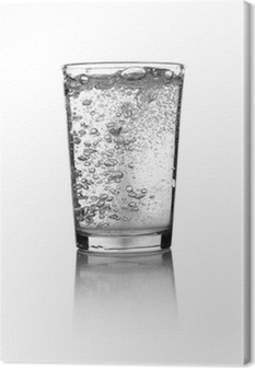 Canvastavla Glas vatten