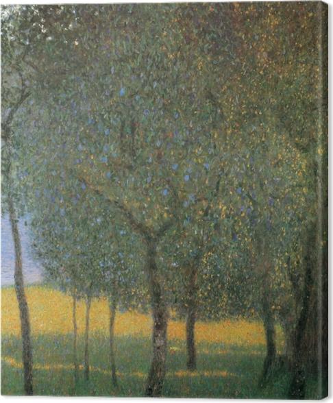 Canvastavla Gustav Klimt - Fruktträd i Attersee - Reproduktioner