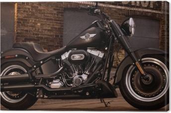 Canvastavla Harley Davidson