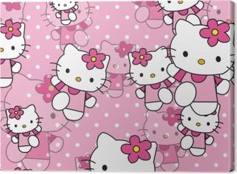 Canvastavla Hello Kitty