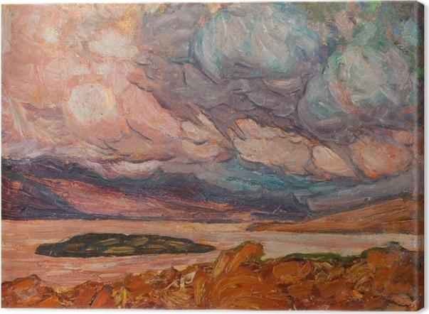 Canvastavla Helmer Osslund - Landschap - Reproductions