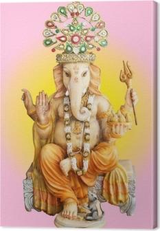 Canvastavla Hinduiska guden Ganesha