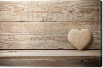 Canvastavla Hjärta