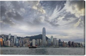 Canvastavla Hongkong