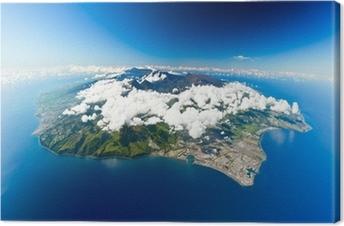 Canvastavla Île de la Réunion