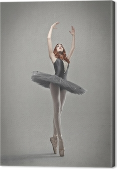 Canvastavla Indigo Ballerina