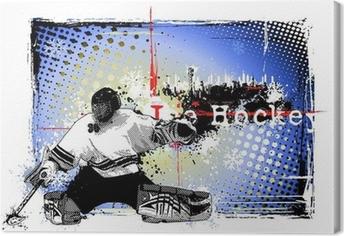 Canvastavlor Hockey goalie mask • Pixers® - Vi lever för förändring