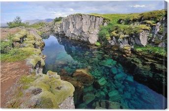 Canvastavla Island - Þingvellir nationalpark