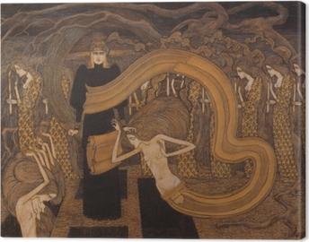 Canvastavla Jan Toorop - Fatalisme