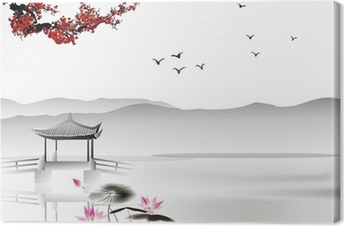 Canvastavla Kinesisk målning