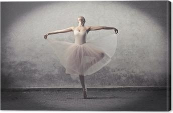 Canvastavla Klassisk ballerina