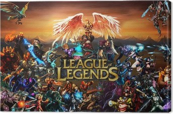 Canvastavla League of Legends