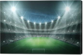 Canvastavla Light of Stadium