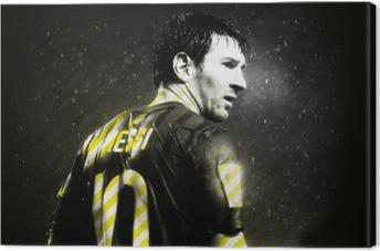 Canvastavla Lionel Messi