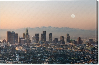 Canvastavla Los angeles skyline