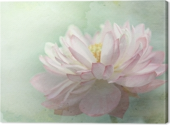 Canvastavla Lotusblomma