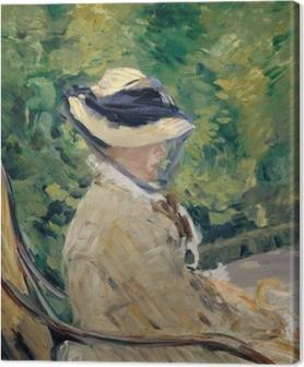 Canvastavla Madame Manet