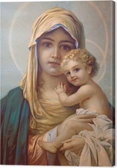 Canvastavla Madonna - Guds moder