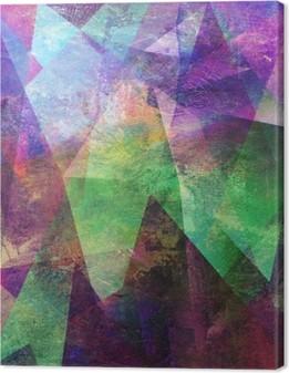 Canvastavla Malerei graphik abstrakt