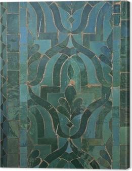 Canvastavla Marockanska Tile Pattern