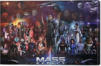 Canvastavla Mass Effect