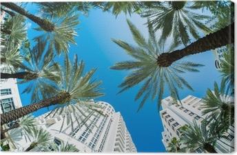 Canvastavla Miami beach