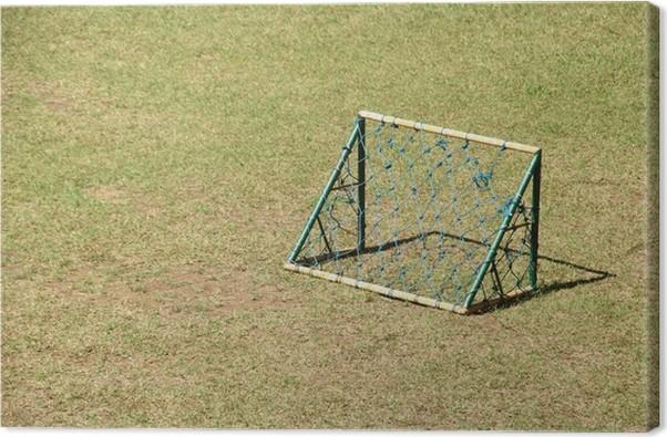 Canvastavla Mini Fotbollsmål • Pixers® - Vi lever för förändring 49a0bba9e032a