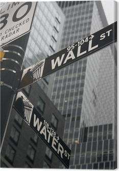 Canvastavla New York - Wall Street