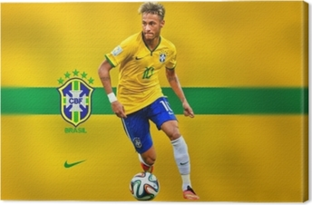 Canvastavla Neymar