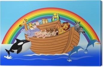 Canvastavla Noah ark